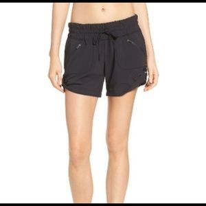 Zella Black Switchback Running Workout Shorts M